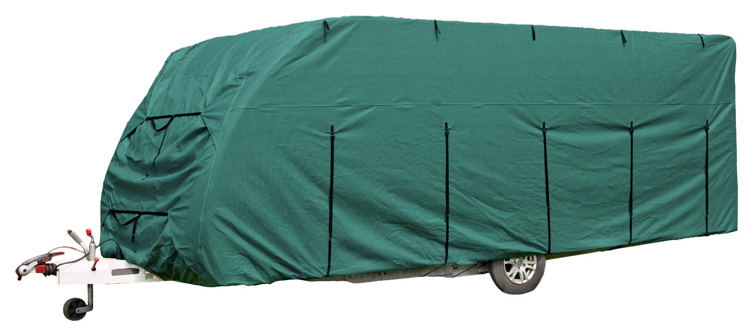 Royal 12 to 14ft Green Caravan Cover lowest price