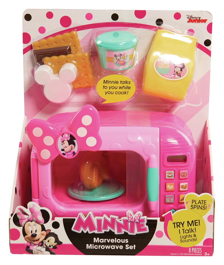 Minnie's Happy Helpers Microwave