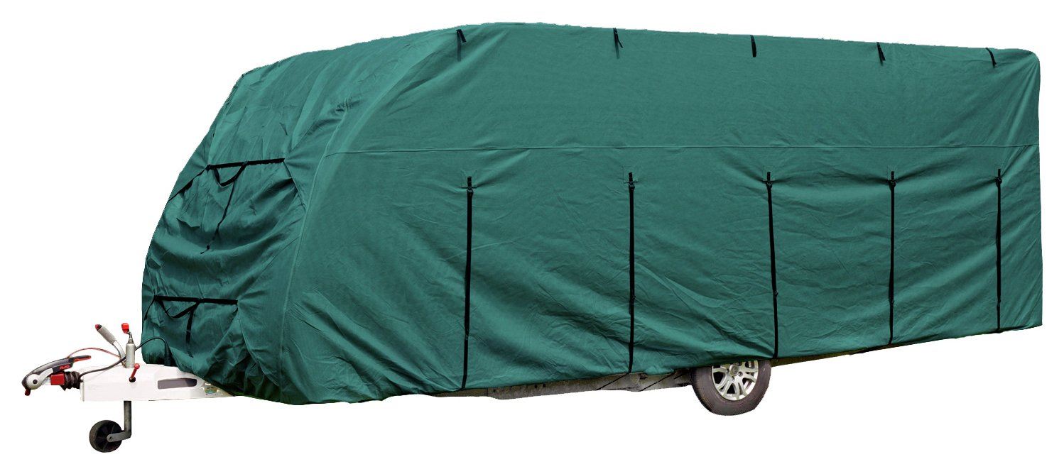 Royal 17 to 19ft Green Caravan Cover lowest price
