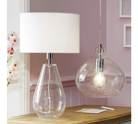 Buy heart of house arabelle bubble glass pendant ceiling light click to zoom aloadofball Image collections