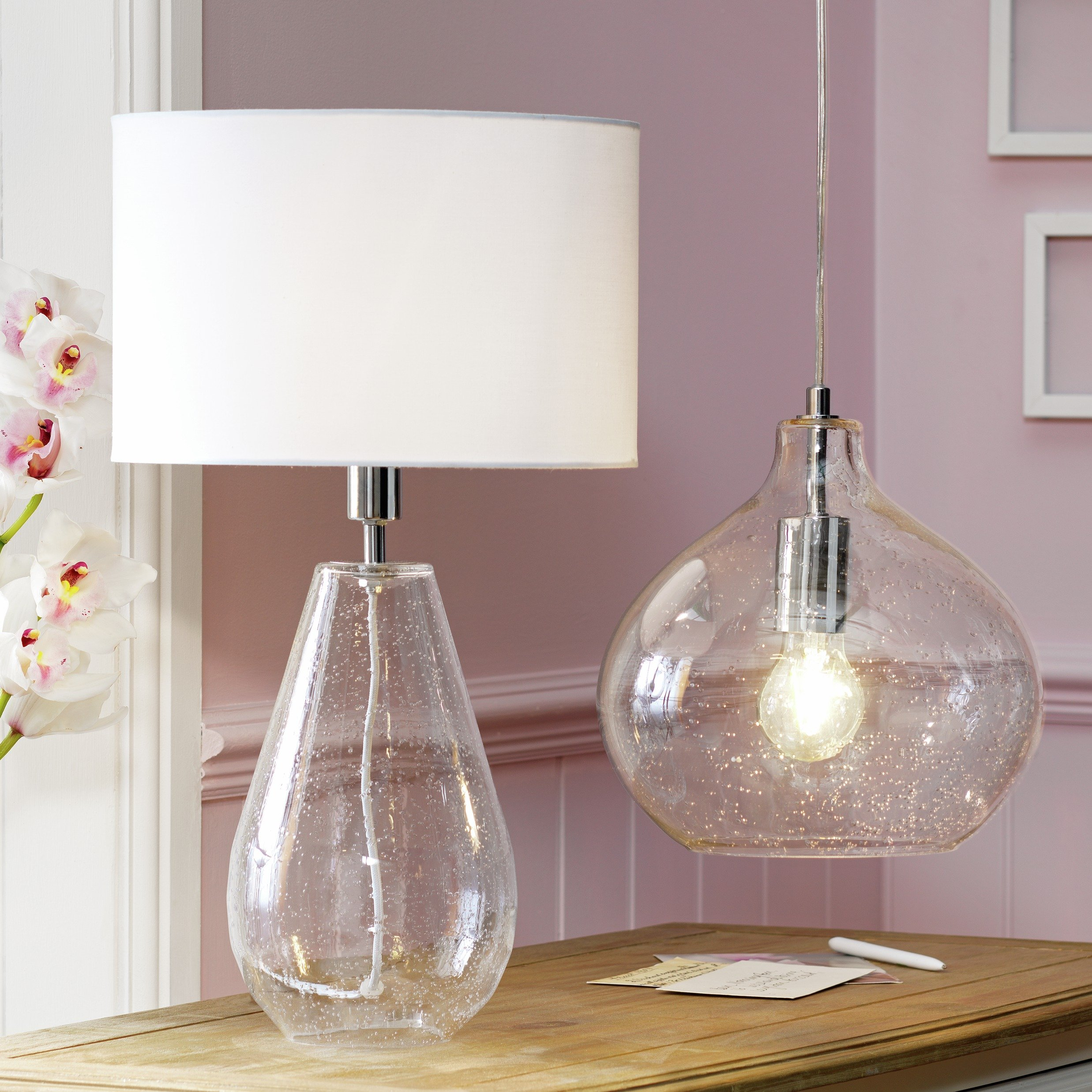 Buy Heart of House Arabelle Bubble Glass Pendant Ceiling Light at