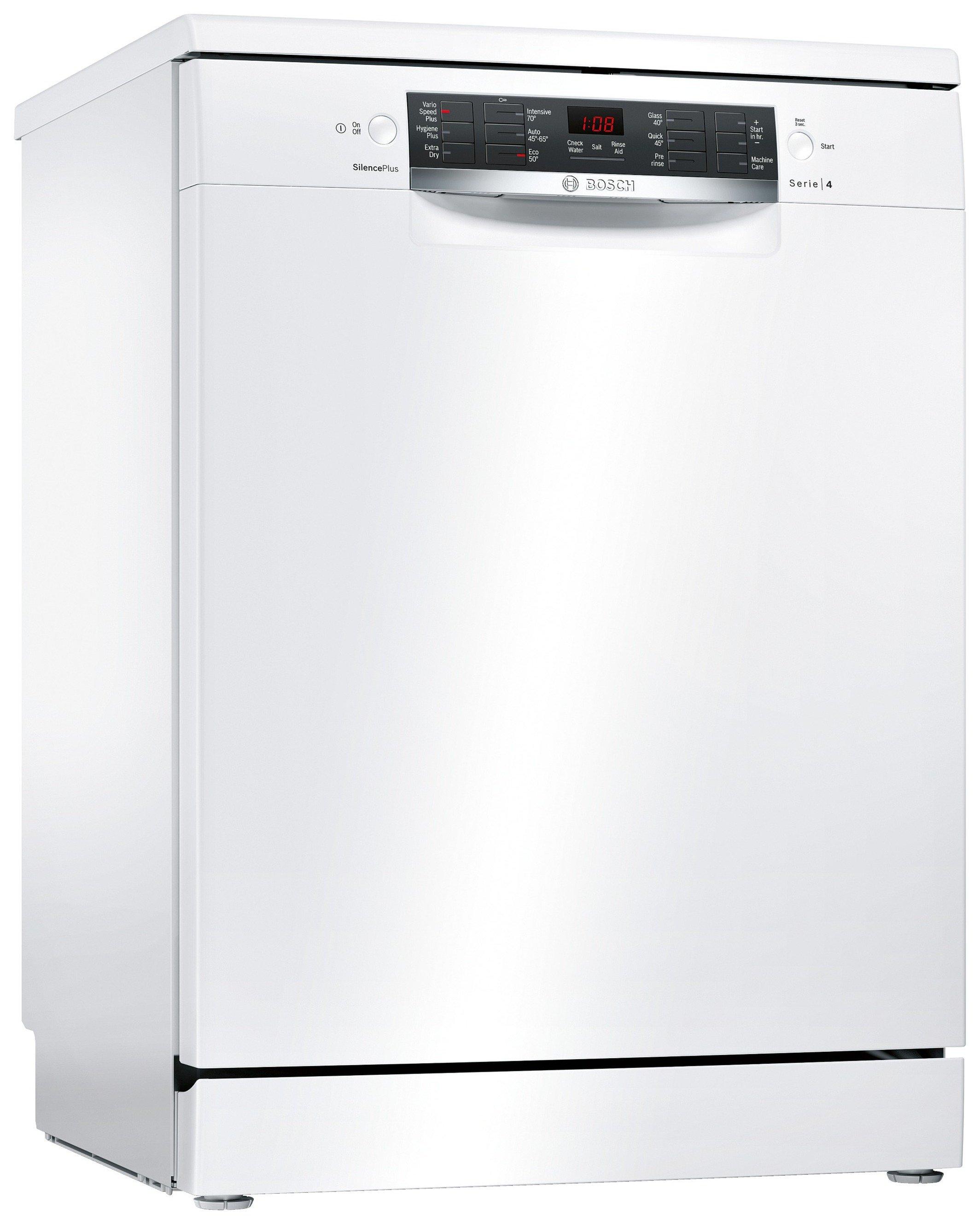 Bosch SMS46MW00G Full Size Dishwasher - White