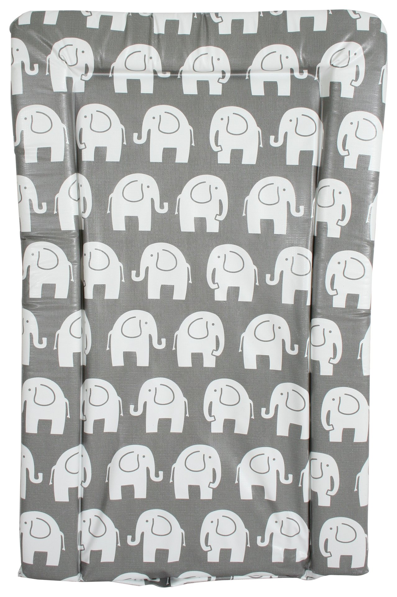 Image of My Babiie Changing Mat - Grey Elephants