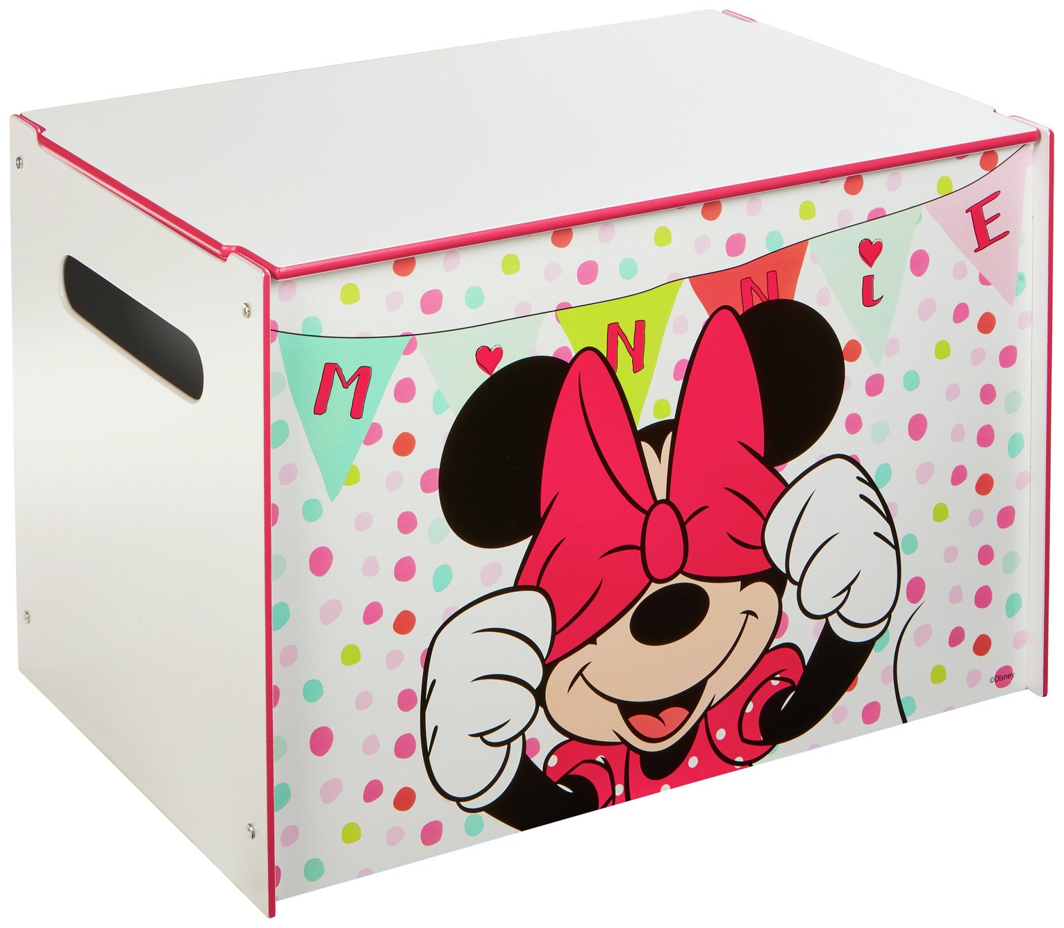 Image of Disney Minnie Mouse Toy Box