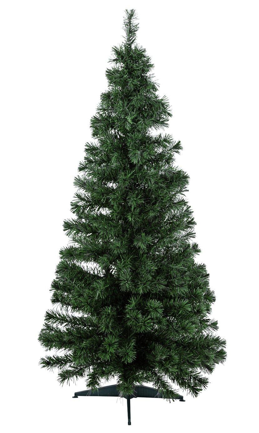 Argos Home 6ft Fibre Optic Christmas Tree - Green