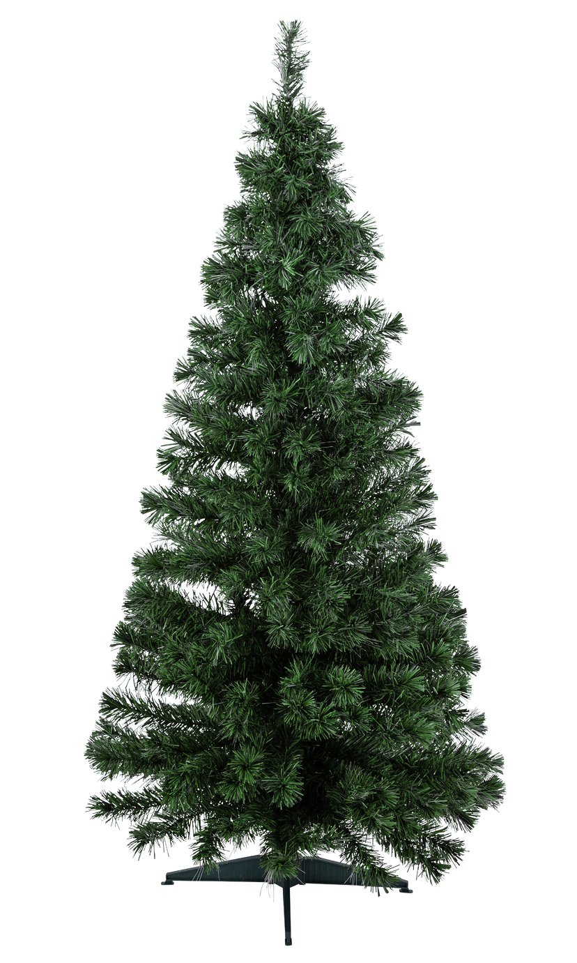 Buy Home 6ft Fibre Optic Christmas Tree Green Argos Uk