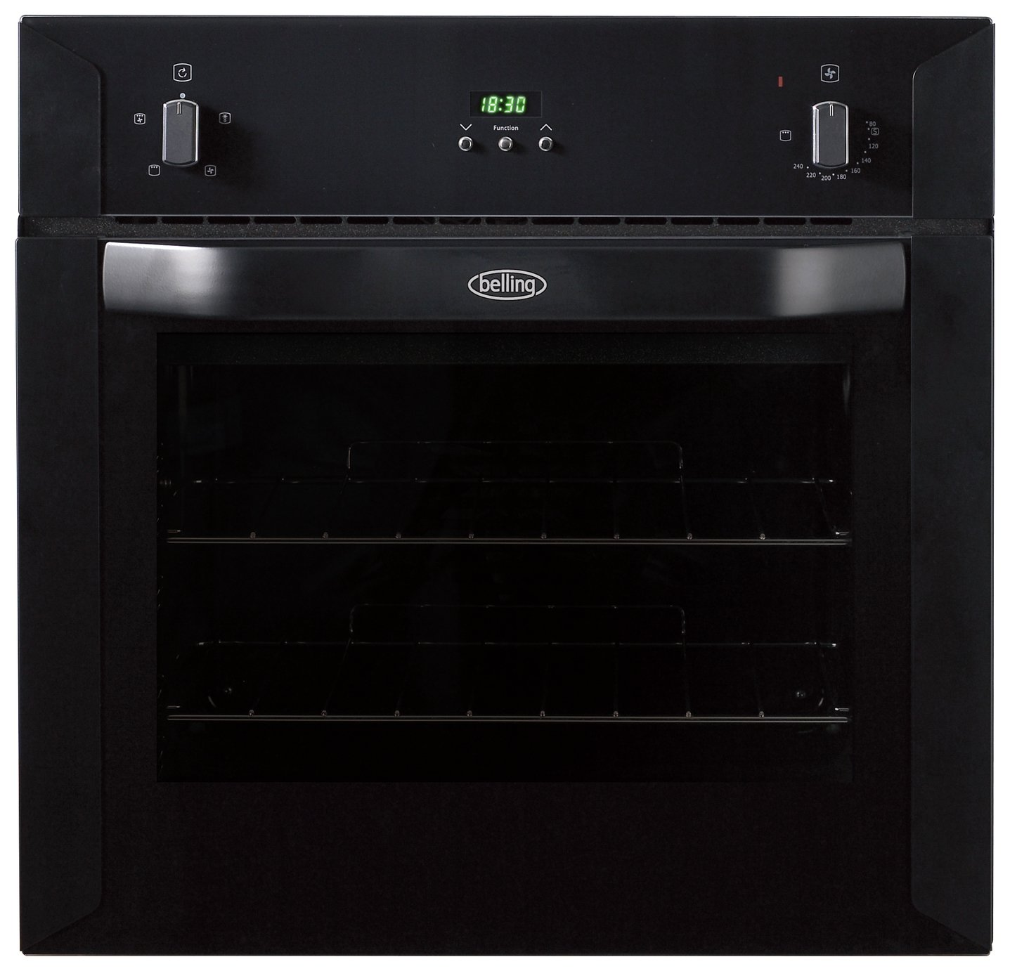 Image of Belling BI60FP Electric Built-In Single Oven - Black