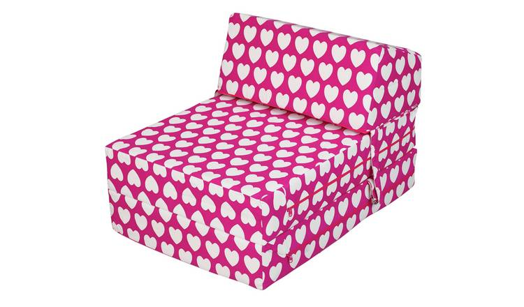 Groovy Buy Argos Home Hearts Flip Out Chair Bed Sofa Beds Argos Short Links Chair Design For Home Short Linksinfo