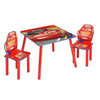 Disney Cars Table and 2 Chairs