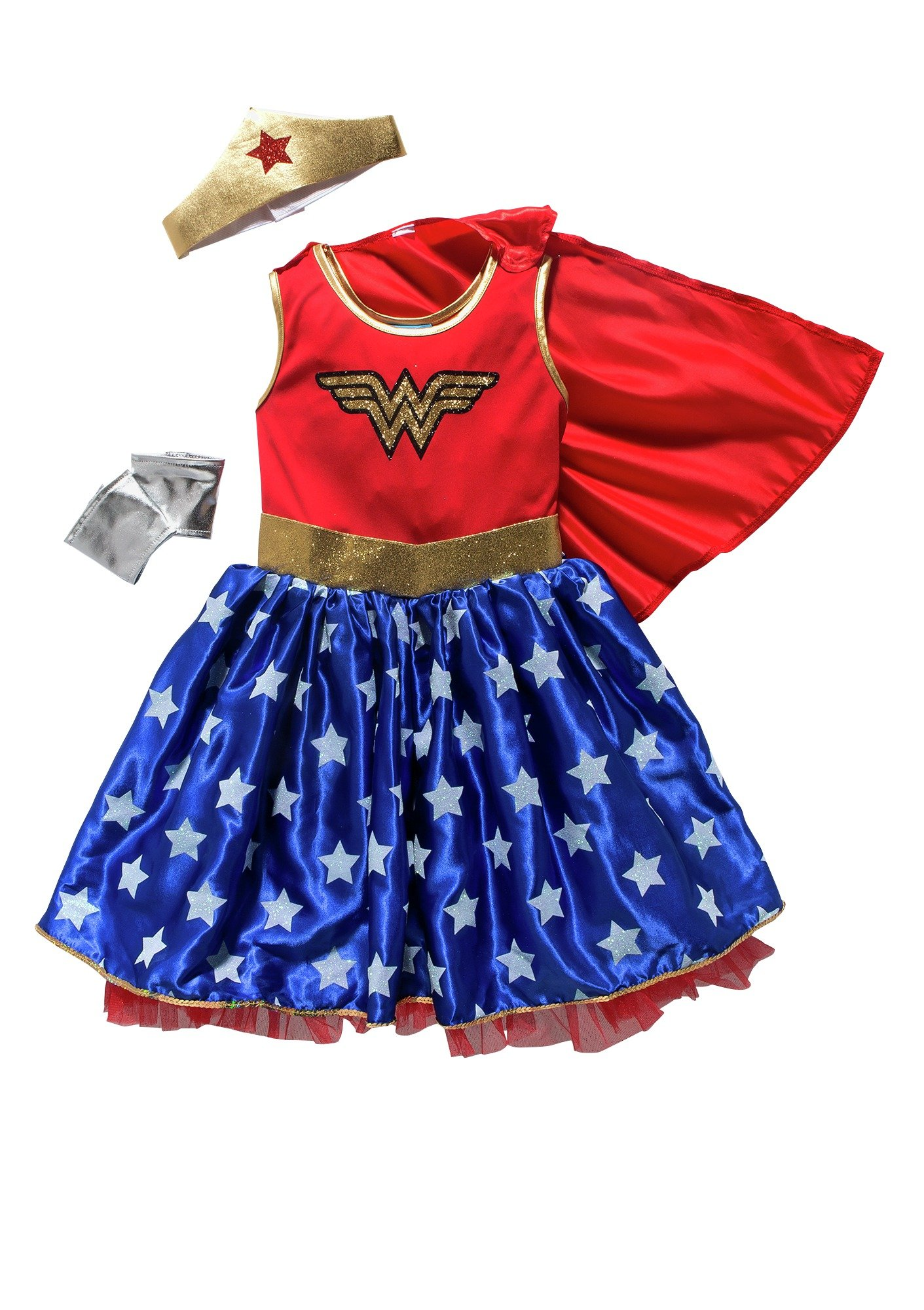 DC Wonder Woman Children's Fancy Dress Costume - 5-6 Years