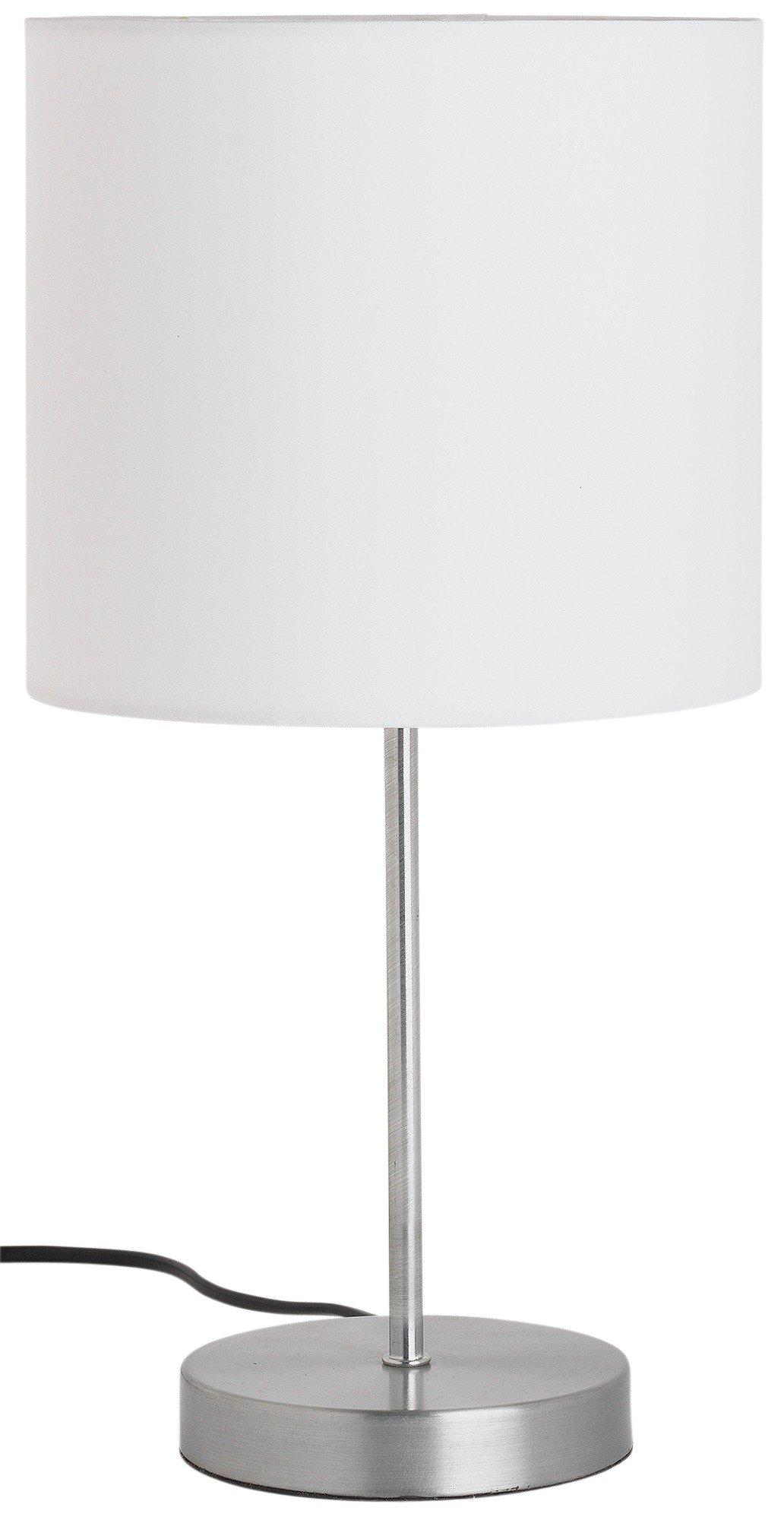 Argos Home Satin Stick Table Lamp - Super White