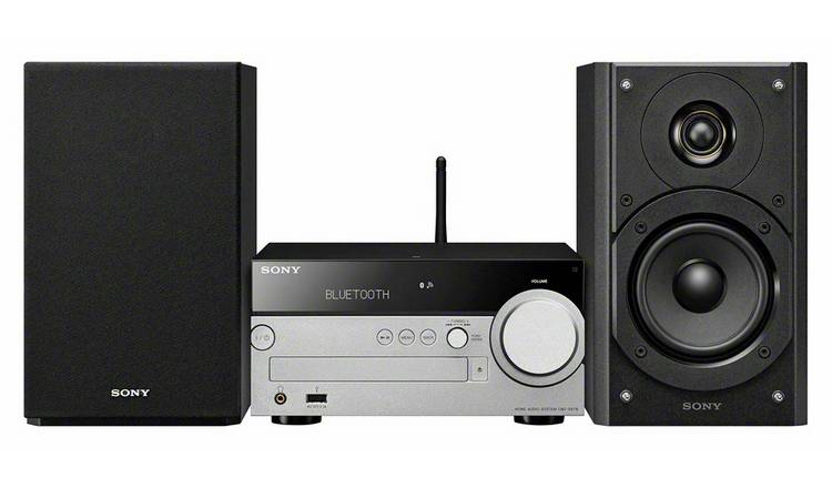 Sony CMT-SX7B Micro Hi-Fi System with Wi-Fi and Bluetooth
