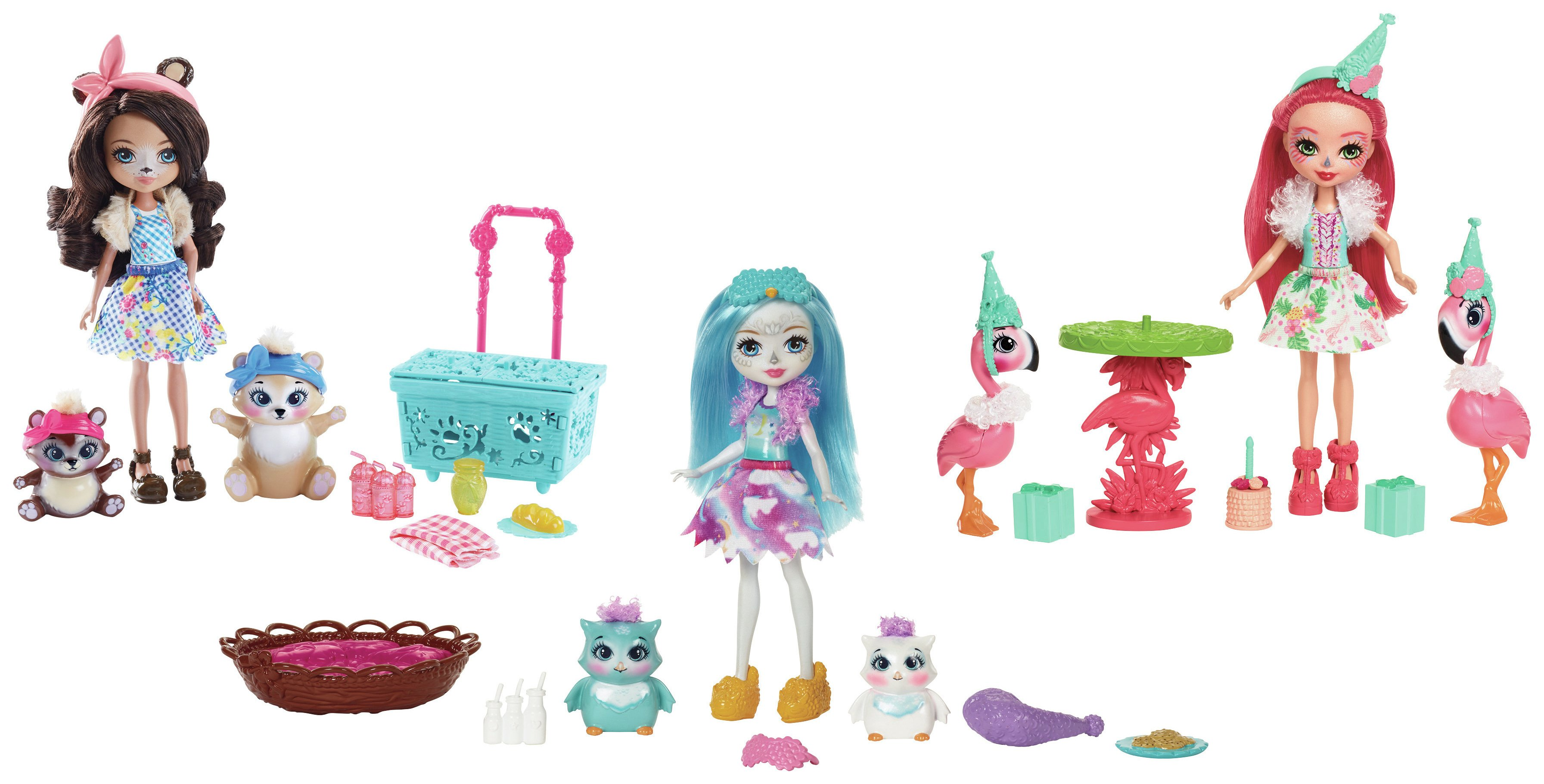 Enchantimals Doll Theme Sets Assortment