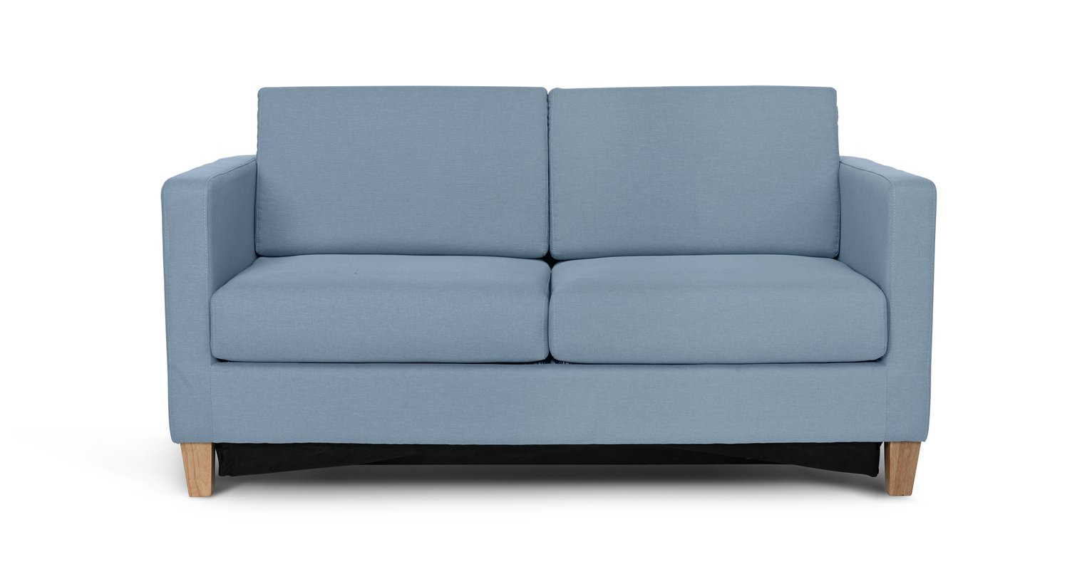 Argos Home Rosie 2 Seater Fabric Sofa Bed - Pale Blue