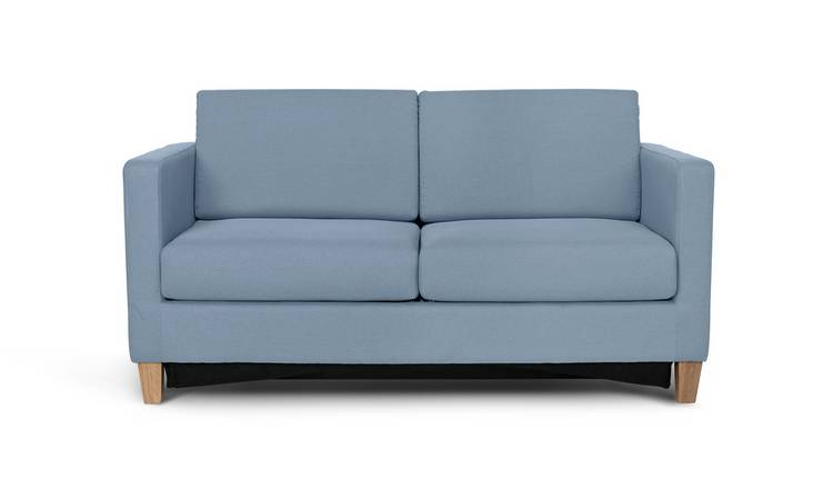 Buy Argos Home Rosie 2 Seater Fabric Sofa Bed - Pale Blue | Sofa beds |  Argos