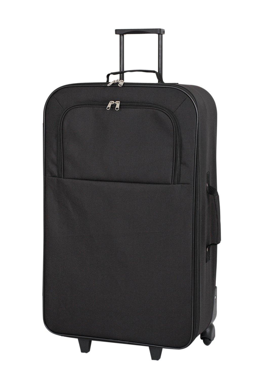487e1655a Simple Value Soft 2 Wheeled Large Suitcase - Black (7039108) | Argos Price  Tracker | pricehistory.co.uk