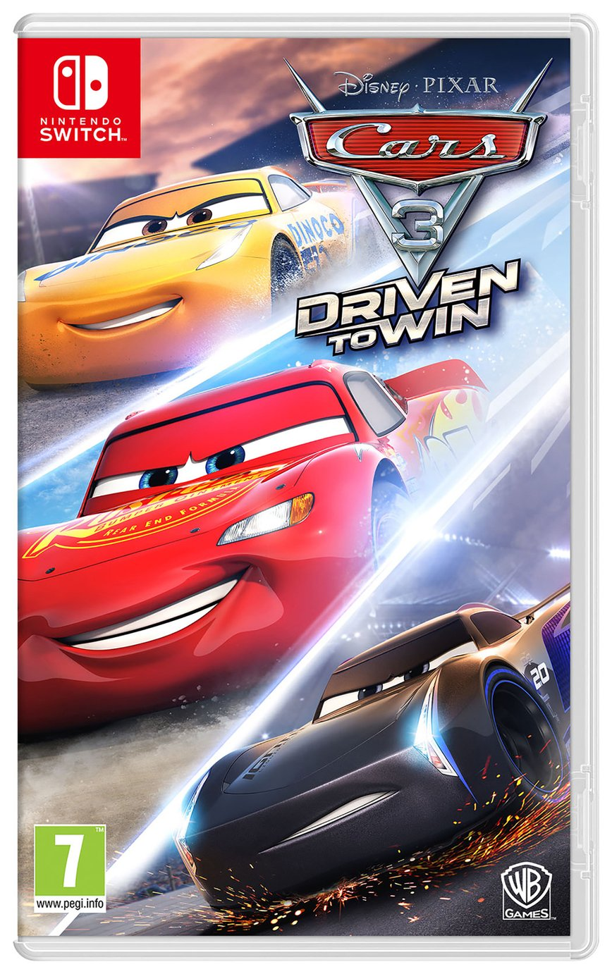 Image of Cars 3: Driven to Win Nintendo Switch Game