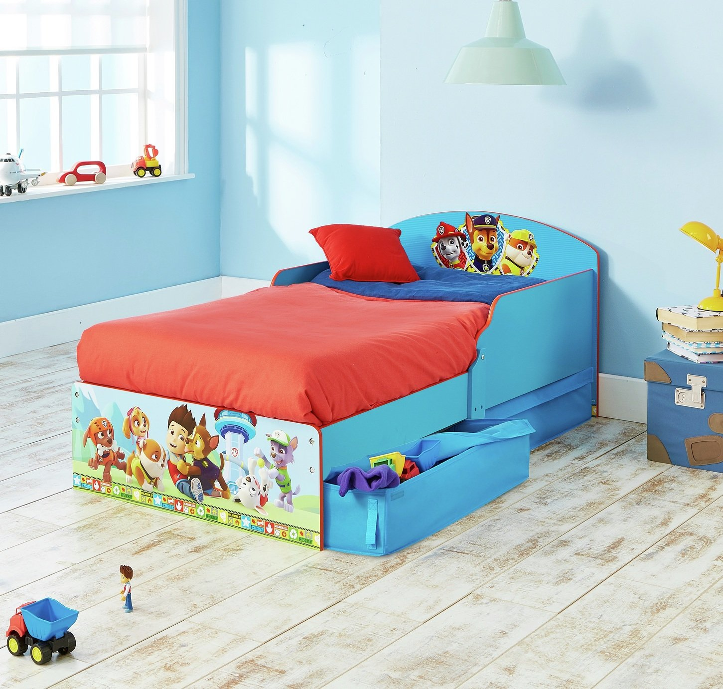 Paw Patrol–Children's Bed with Under-Bed Storage Best Price and Cheapest