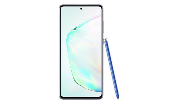 SIM Free Samsung Galaxy Note 10 Lite 128GB Mobile - Silver