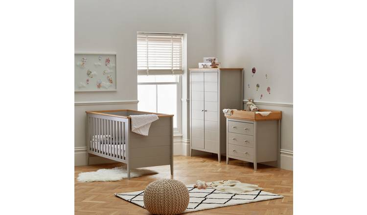 Cuggl Canterbury 3 Piece Furniture Set- Grey