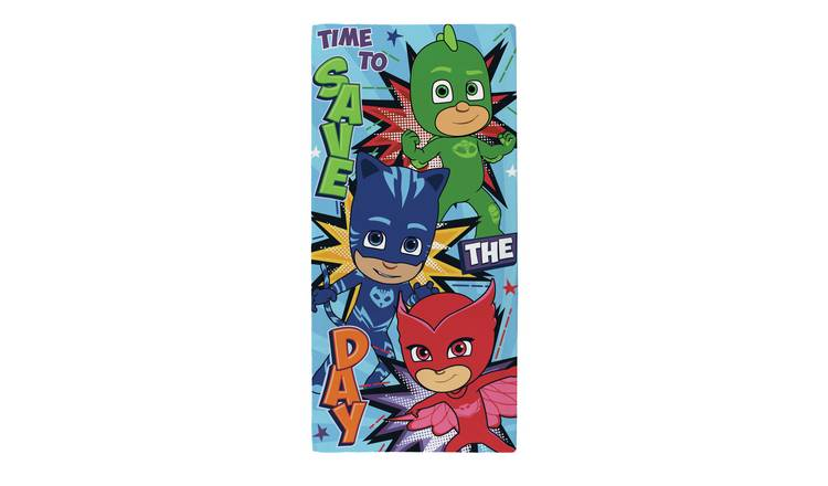 PJ Masks Save the Day Beach Towel