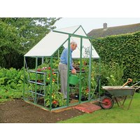 Norfolk Twin Walled 6 x 4ft Ultimate Greenhouse