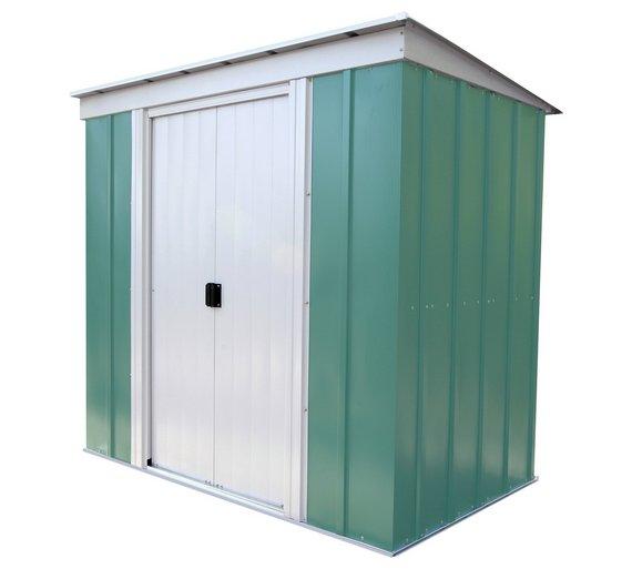 arrow metal garden shed 6 x 4ft - Garden Sheds 6 X 5