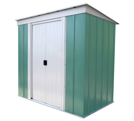 arrow metal garden shed 6 x 4ft
