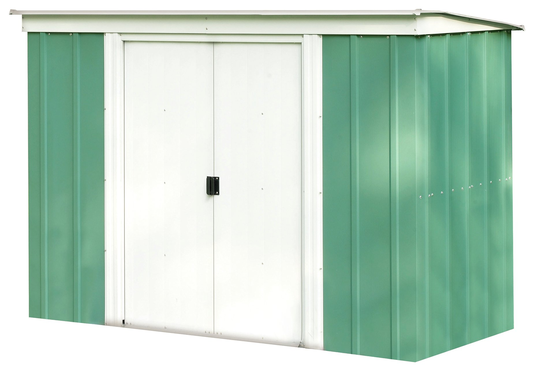 Image of Arrow Metal Garden Shed - 8 x 4ft
