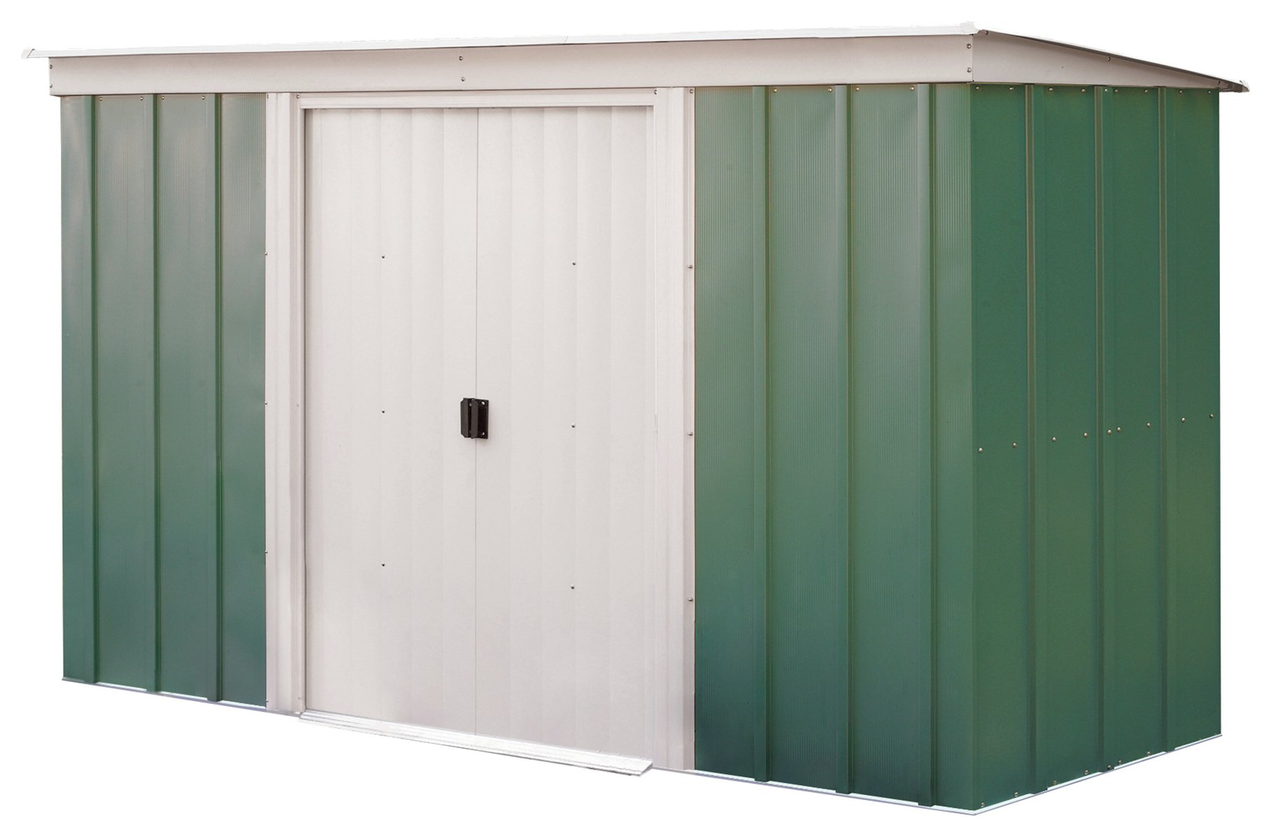 Image of Arrow Metal Garden Shed - 10 x 4ft