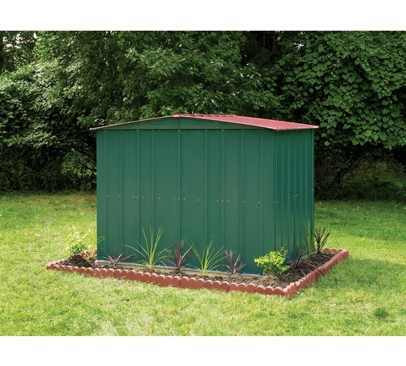 Buy Arrow Apex Metal Garden Shed