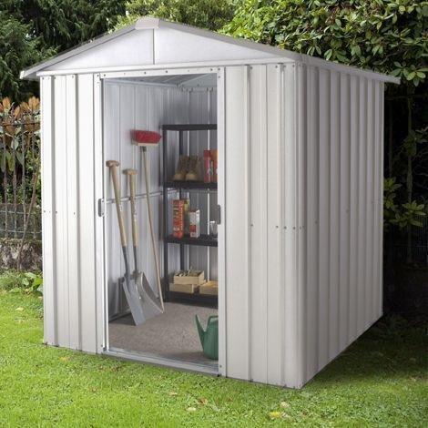 Garden Sheds Argos buy yardmaster metal garden shed - 6 x 4ft at argos.co.uk - your
