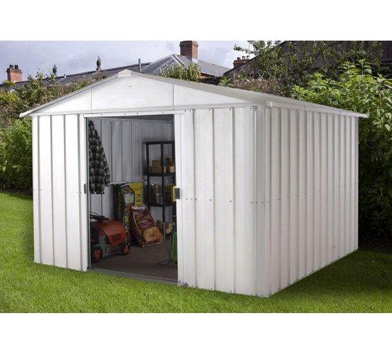 Buy Yardmaster Metal Garden Shed X At Argos Co Uk Your