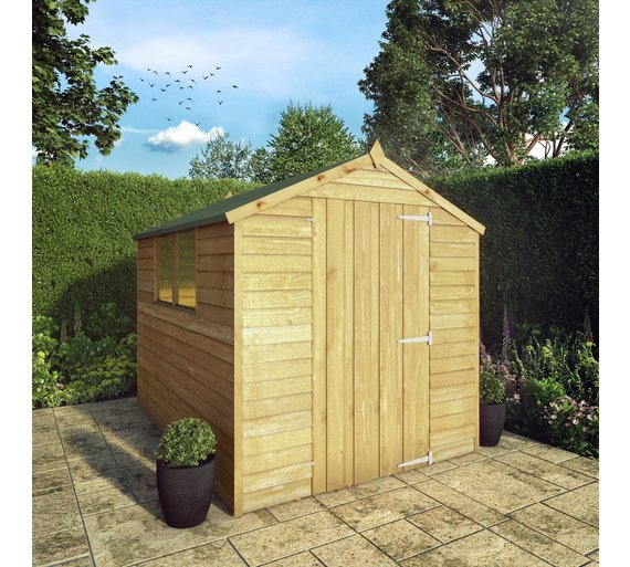 Buy Mercia Overlap Wooden Garden Shed X At Argos Co Uk