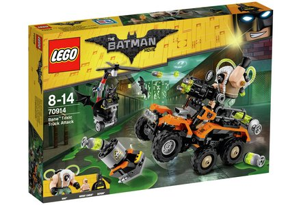 LEGO The Batman Movie Bane's Toxic Truck Attack - 70914.