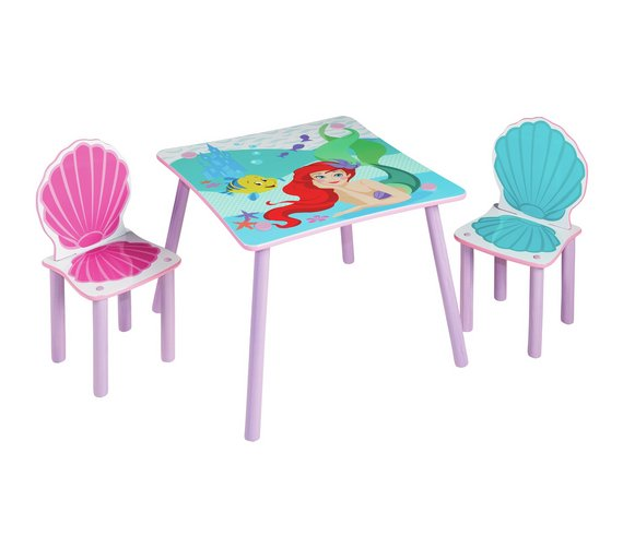 Disney Princess Table And 2 Chairs