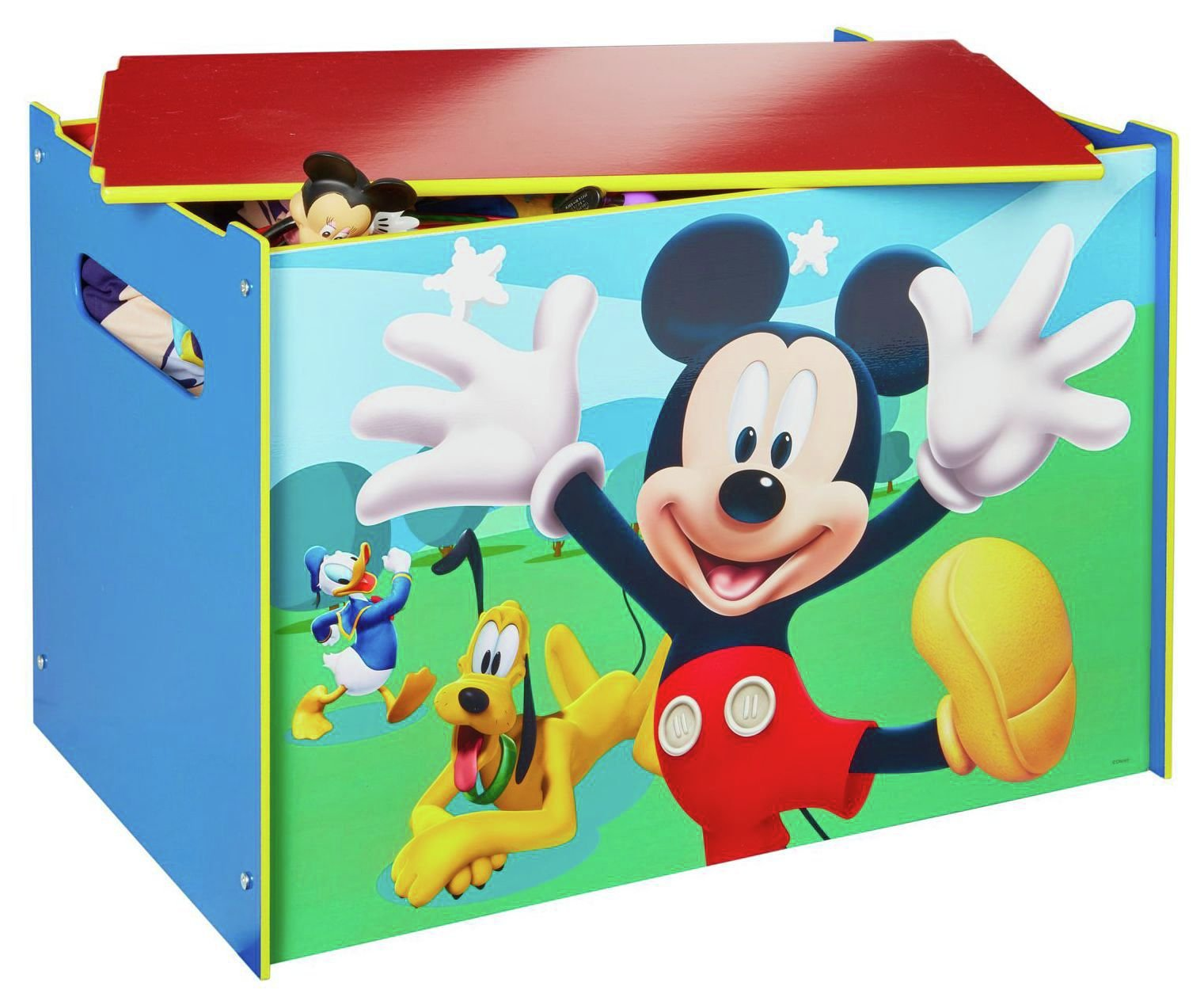 Image of Disney Mickey Mouse Toy Box