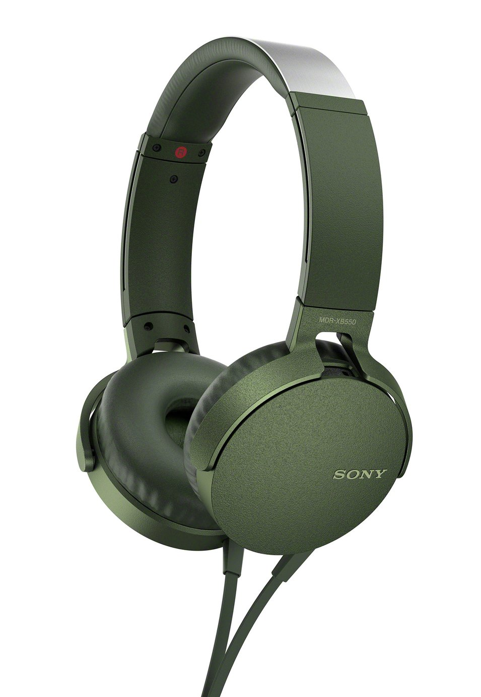 Sony MDR-XB550AP Over-Ear Headphones - Green