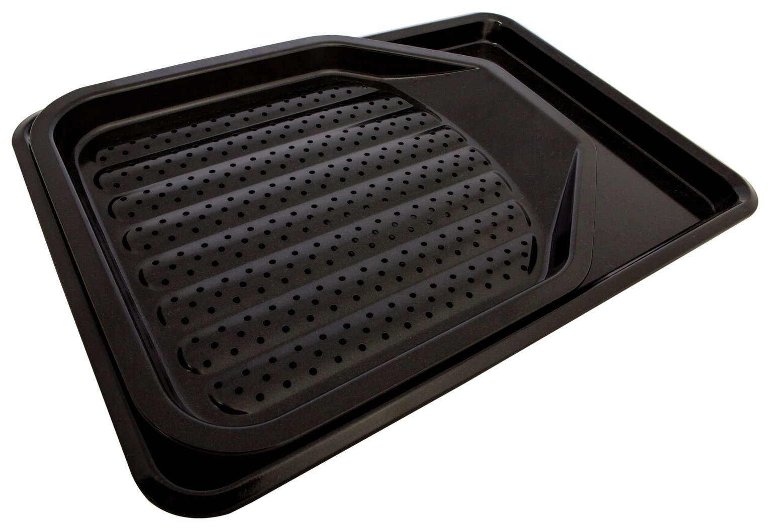 Sainsbury's Home 2 Piece Oven Tray and Crisper Set