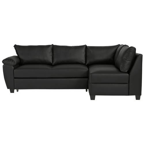 big sale 2ecf3 c05c5 Buy Argos Home Fernando Right Corner Sofa Bed - Black | Sofa beds | Argos