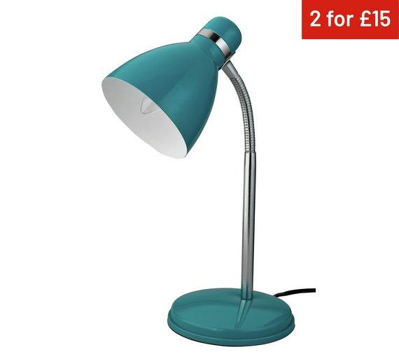 ColourMatch Desk Lamp - Teal - Buy ColourMatch Desk Lamp - Teal At Argos.co.uk - Your Online Shop