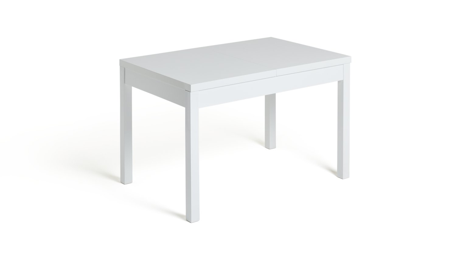 Hygena Lyssa Extendable 4 - 6 Seater Dining Table - White