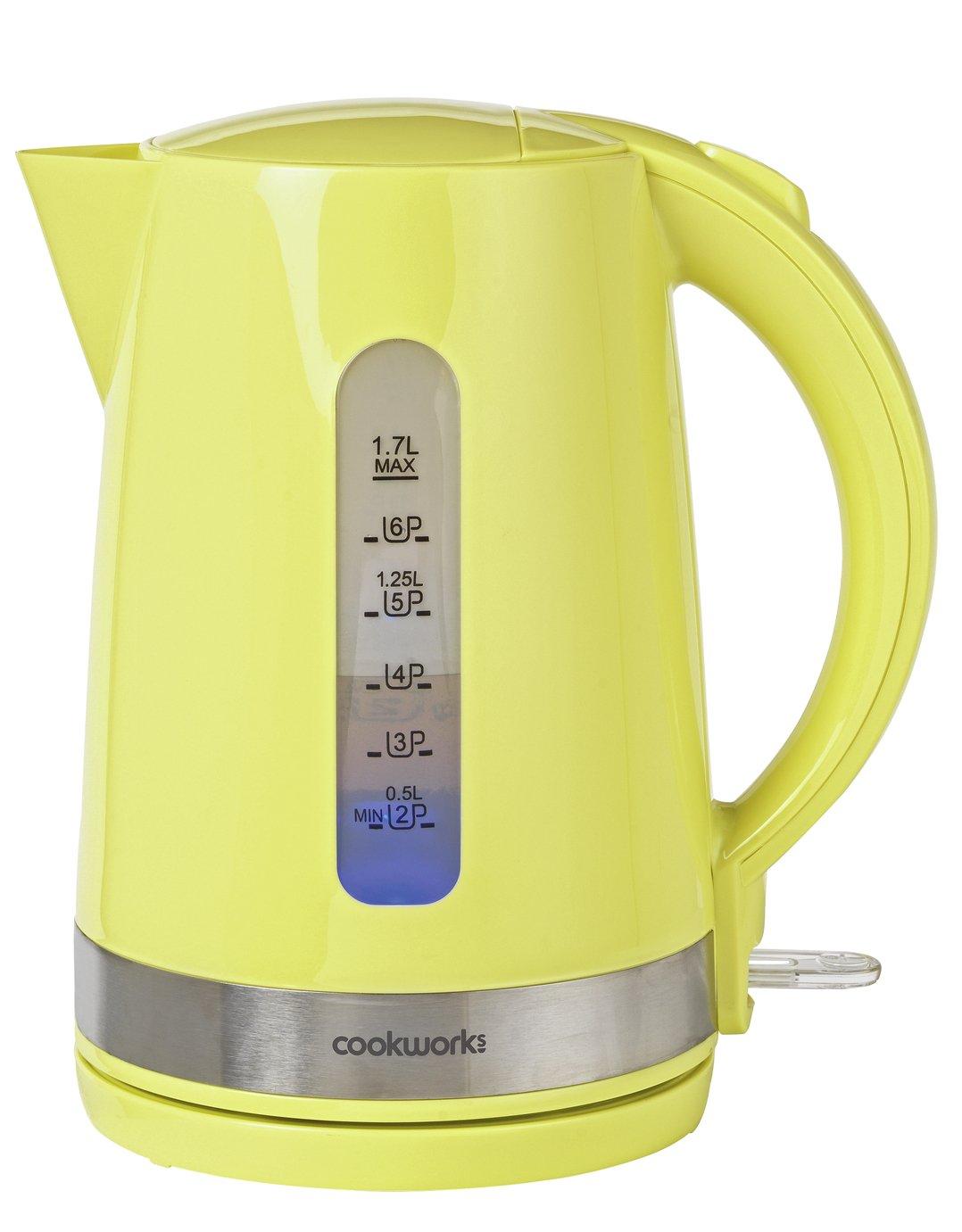Cookworks Illumination Kettle - Green