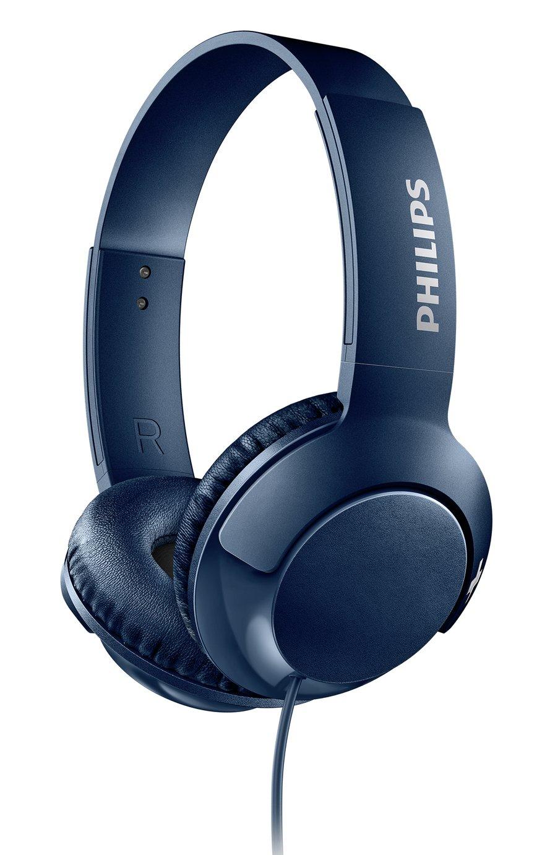 Philips SHL3070 On-Ear Headphones - Blue