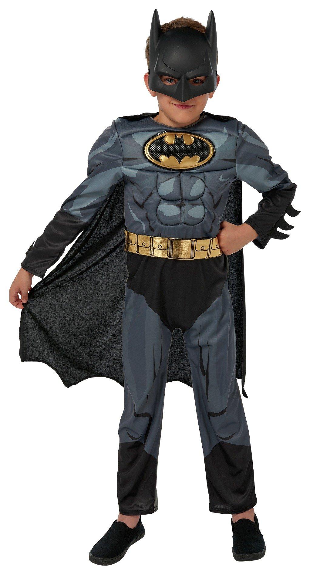 Image of DC Batman Fancy Dress Costume - 7-8 Years
