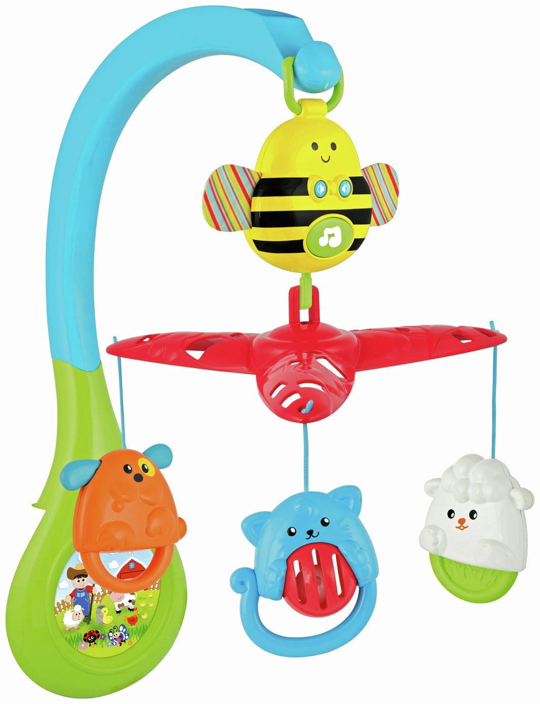 Image of Chad Valley Baby Rotating Musical Mobile