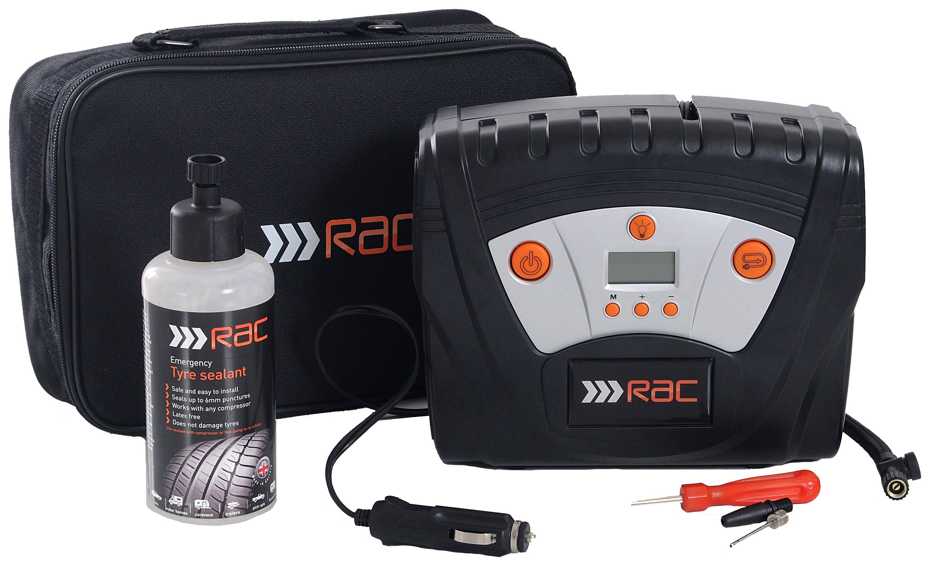 RAC Tyre Maintenance & Repair Kit