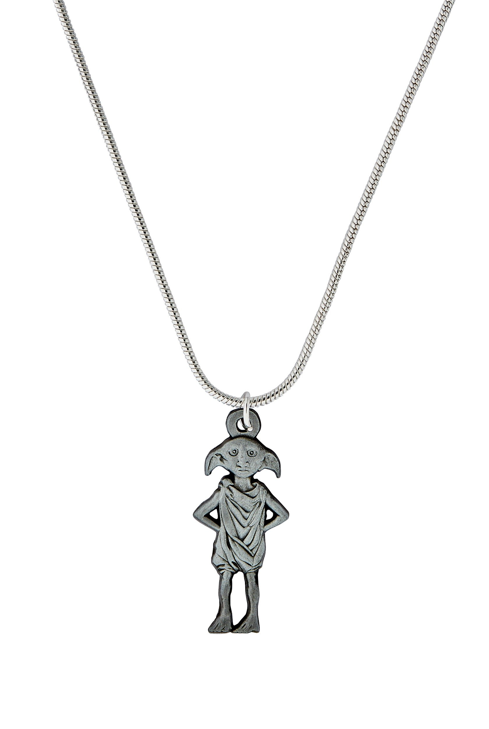 Harry Potter Silver Colour Dobby Pendant.