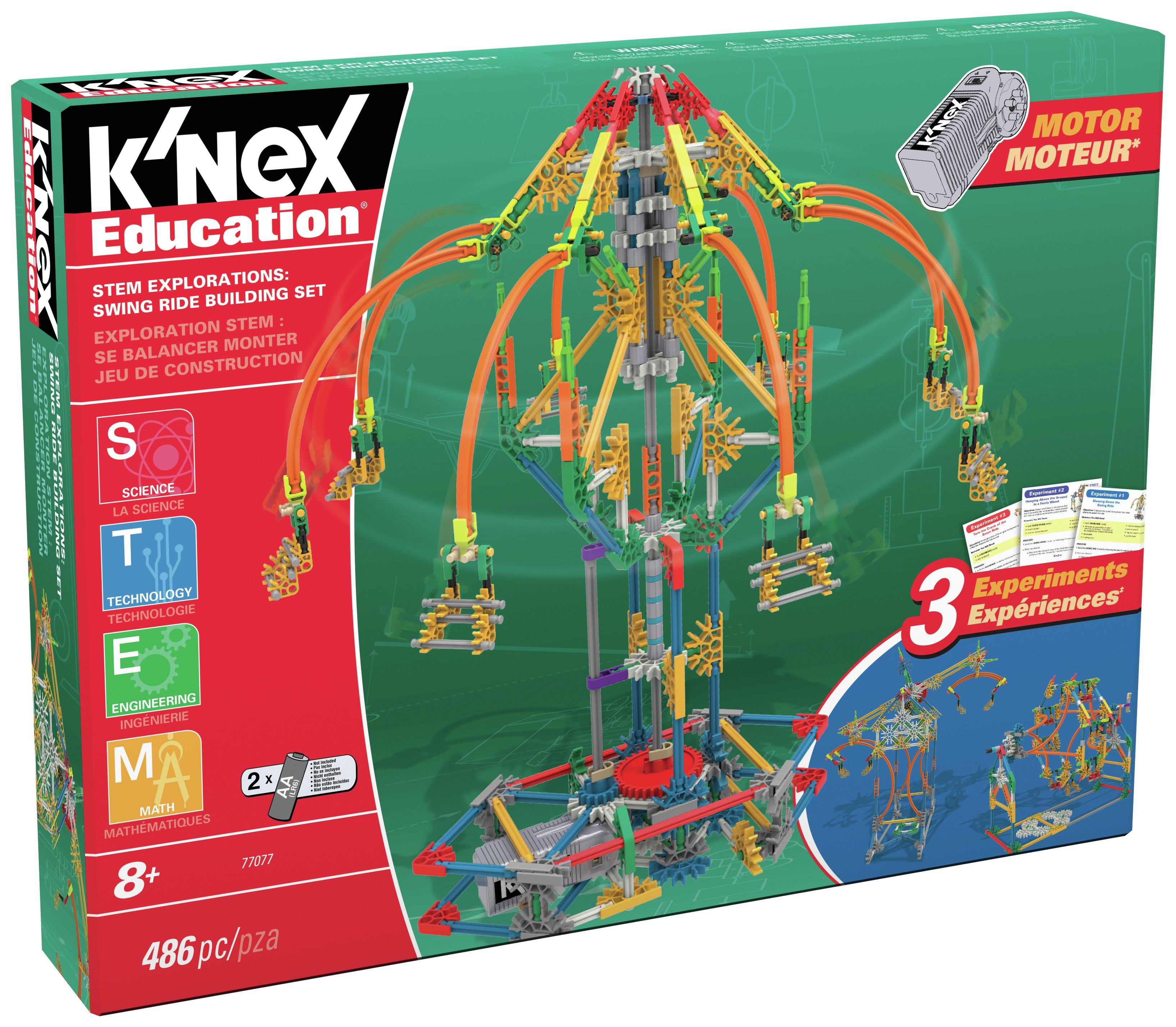 K'NEX STEM Explorations Swing Ride Building Set.