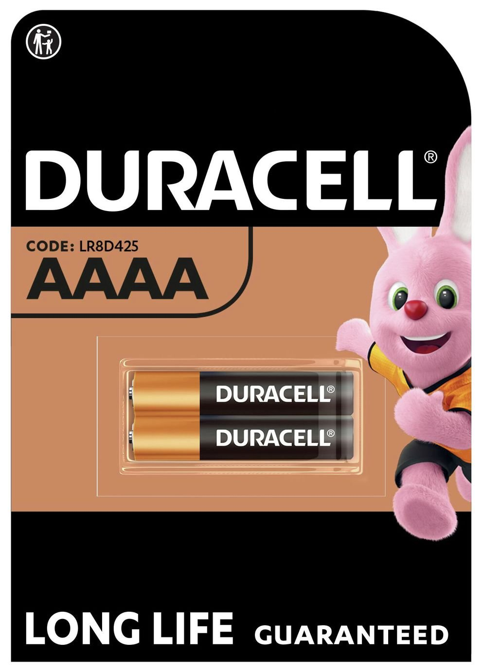Image of Duracell Ultra Alkaline AAAA - Pack of 2